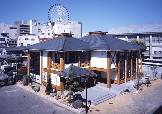 松山工業高校 図書館